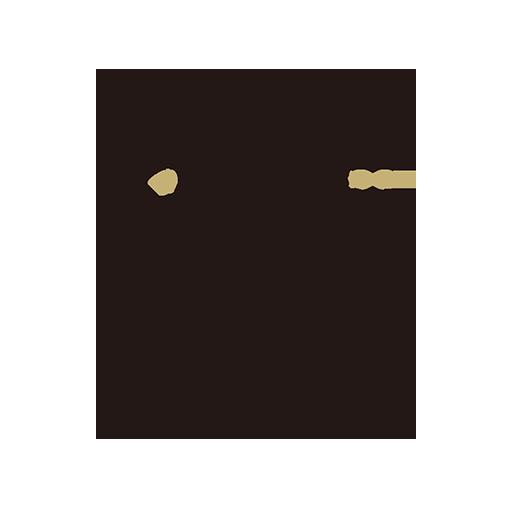 眼鏡と猫ノ舎ロゴマーク