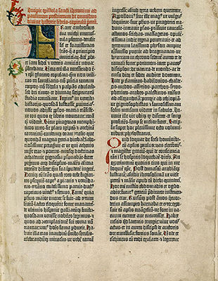 グーテンベルク聖書